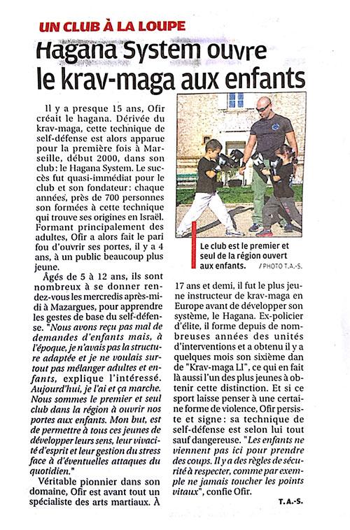 Krav Maga Marseille Hagana