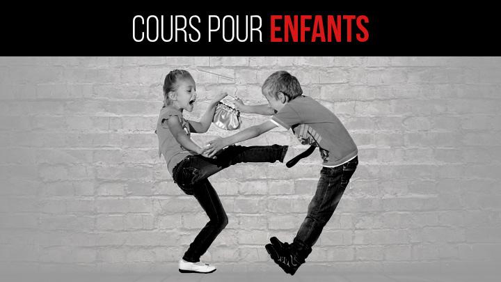 Cours self-defense et krava maga enfants Marseille