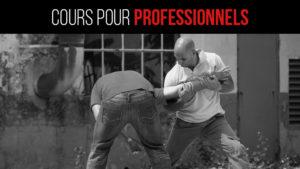 Cours de krav maga pour professionnels Marseille