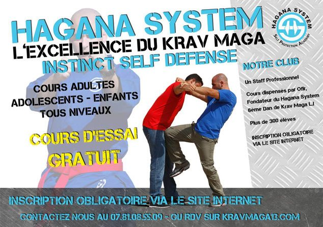 Cours de Krav Maga à Marseille
