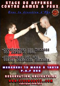 Stage self defense armes à feu