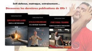 Livres de Krav Maga, self defense, matraque et training