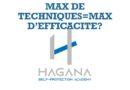MAX DE TECHNIQUES=MAX D'EFFICACITE?