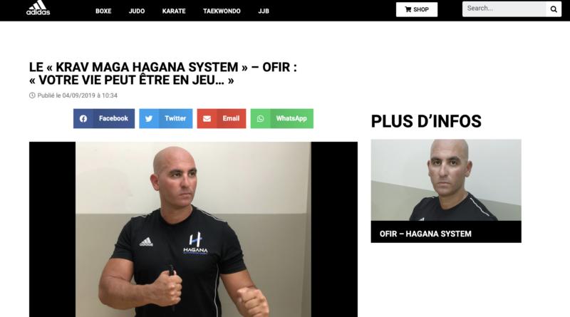 """""""Exceptionnel : Ofir mis en avant sur le site Combat Sports d'Adidas !"""""""