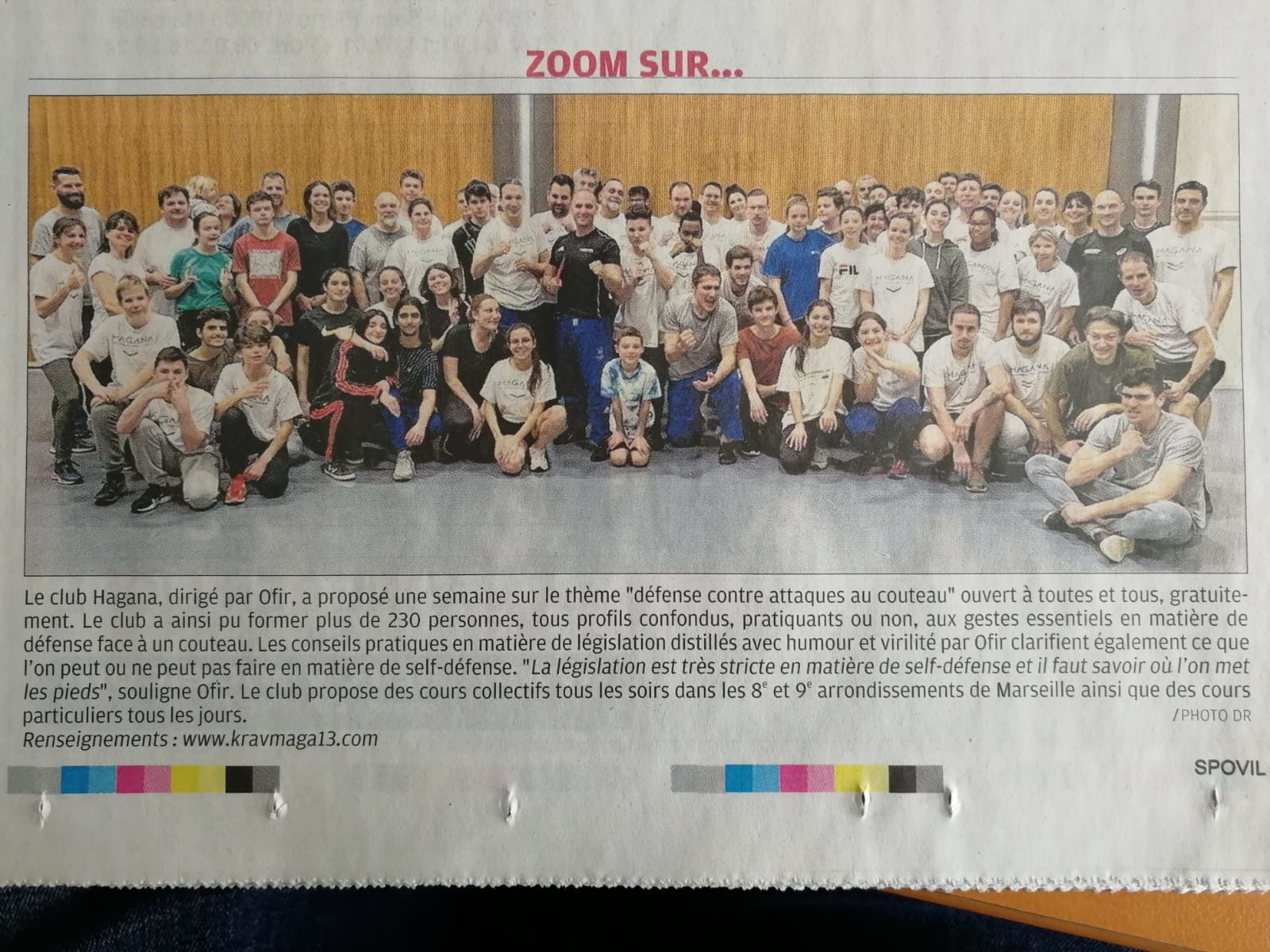 Article la Provence février 2020