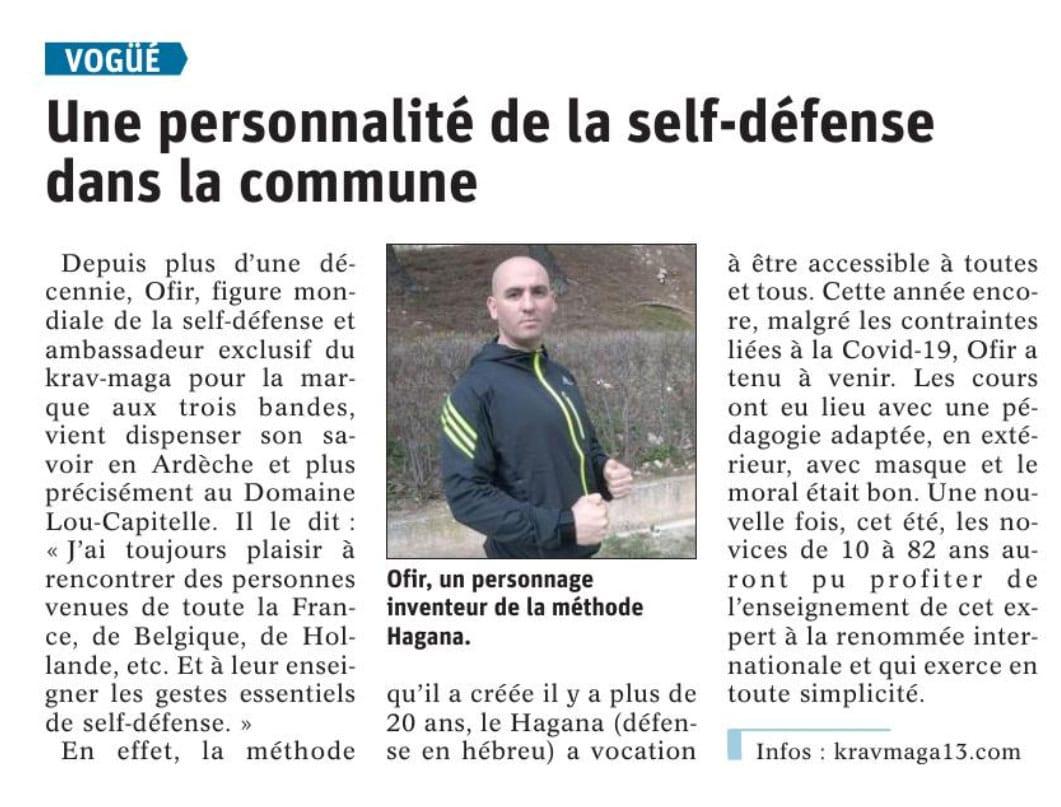 le hagana en Ardèche